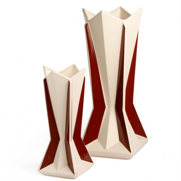 Cubist vase
