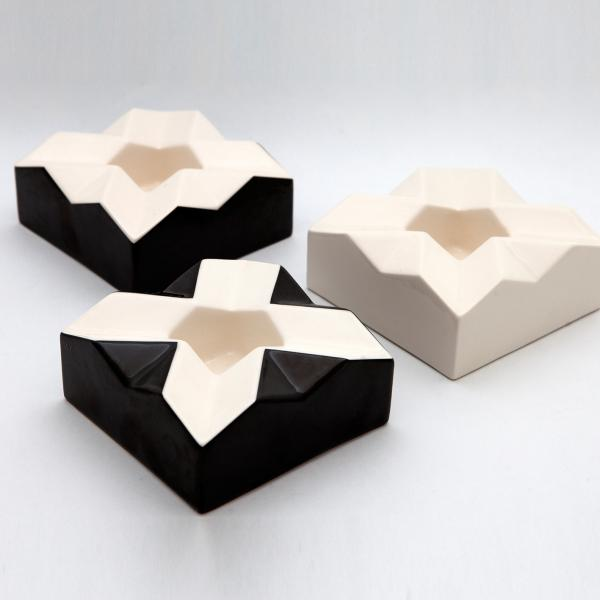 Cubist ashtray
