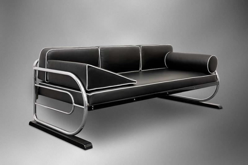 Tubular couch