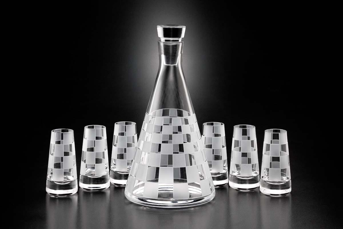 Decanter set (6+1)