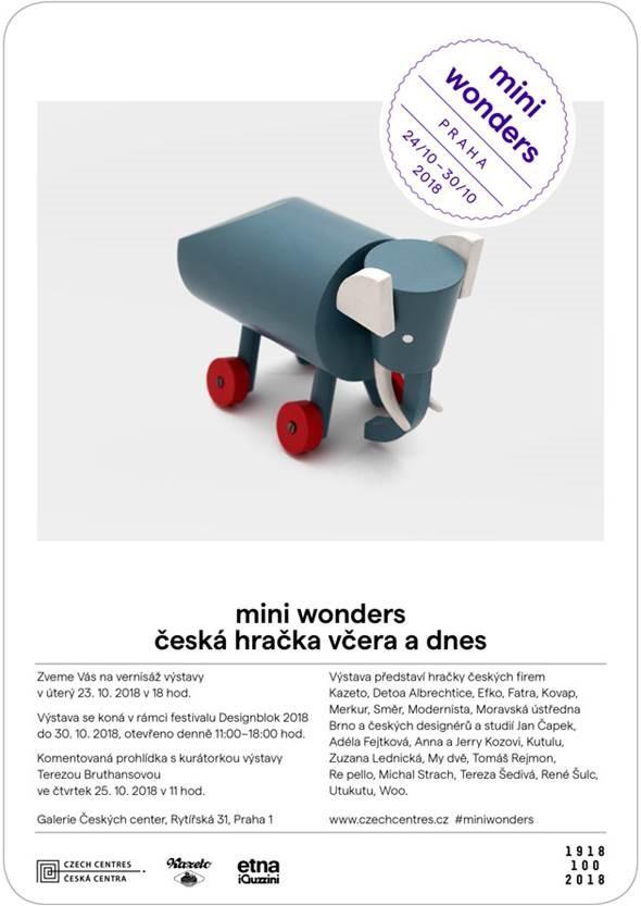 Výstava Mini Wonders, Praha