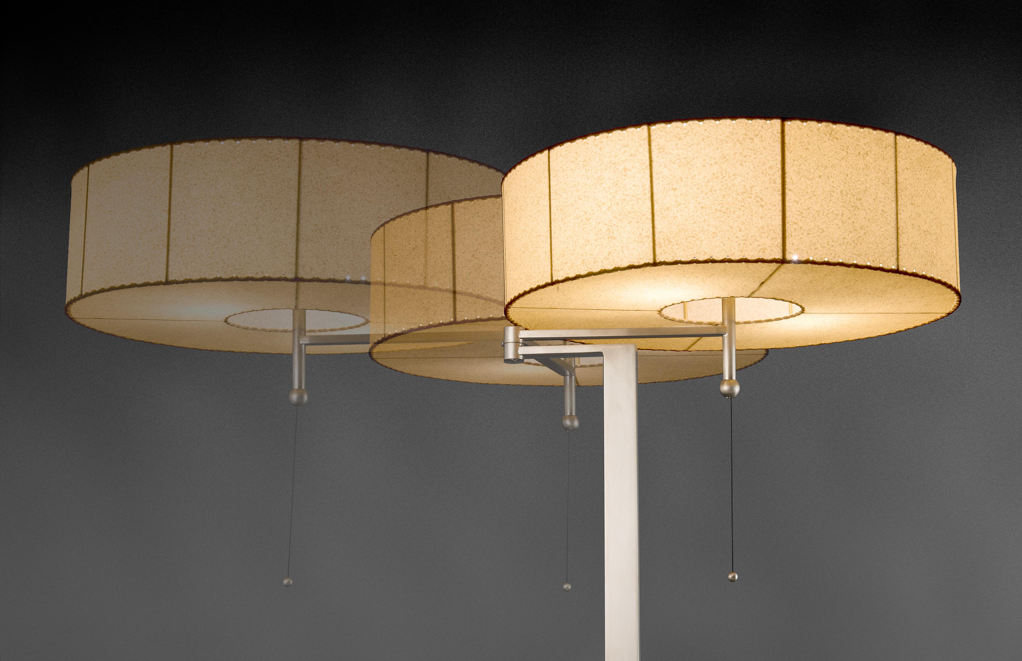 Vellum lamp