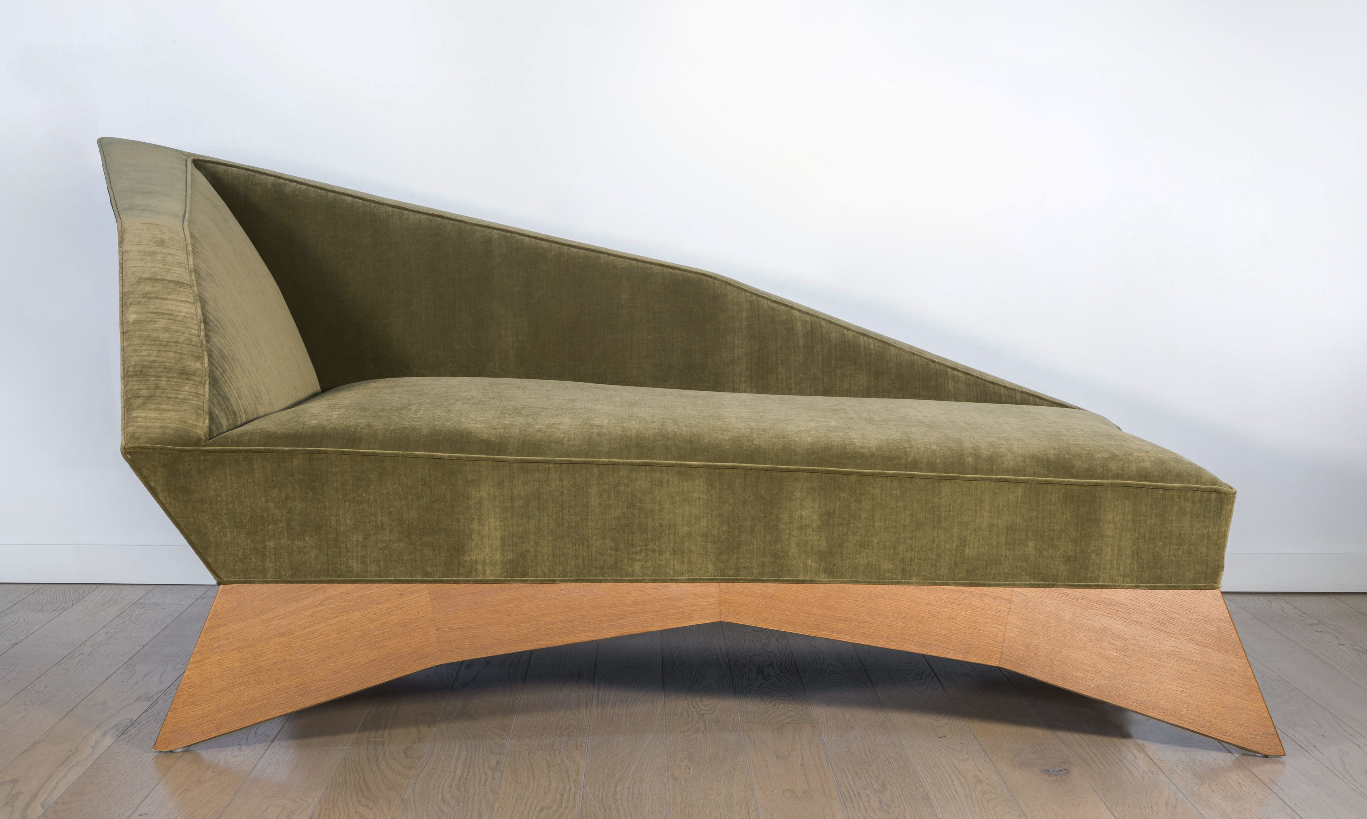 Cubist chaise longue